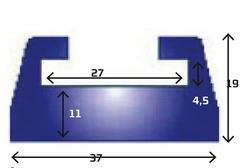 LIUGUR-SIIN SKI-DOO, LYNX PROFIIL 28, must grafiit