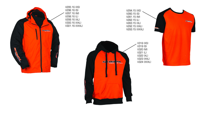 PUSA KAPUUTSIGA  XL SCORPA ORANGE